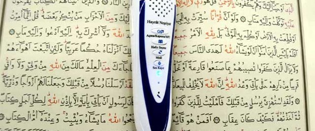 Kur'an okuyan 'hafız kalem'