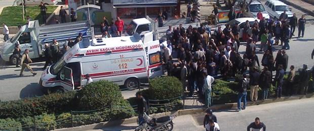 Kuşadası'nda polise ateş