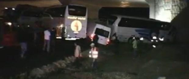 Kütahya'da zincirleme kaza