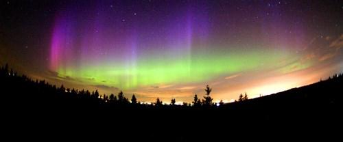 Kuzey ışıkları güneye indi