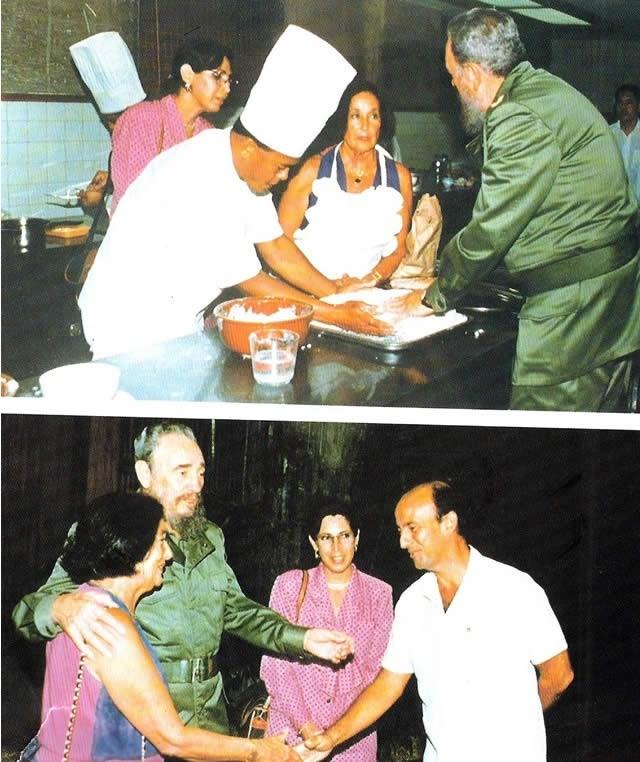 Leyla Umar'ın Küba lideri Fidel Castro ile kalkan pişirdiği söyleşi...
