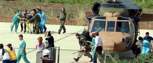 Lice'de askeri helikopter düştü: 1 şehit