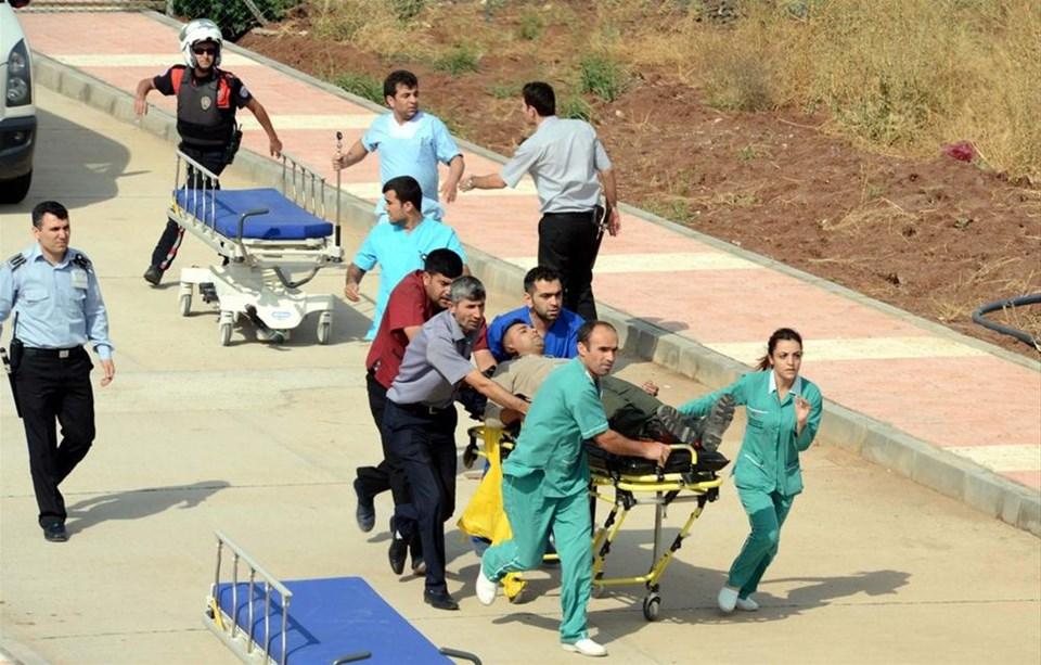 Lice'de askeri helikopter düştü