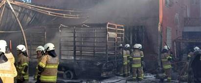 Lice'de patlama: 1 ölü, 4 yaralı