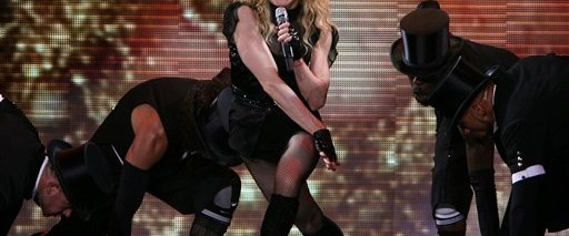 Madonna'nın Sofya konseri olaylı başladı