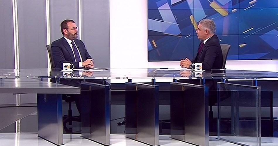 Mahir Ünal, NTV'den Özgür Akbaş'ın sorularını yanıtladı.
