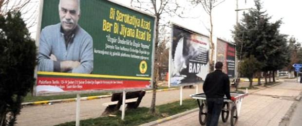 Mahkeme 'Öcalan afişi kaldırılsın' dedi