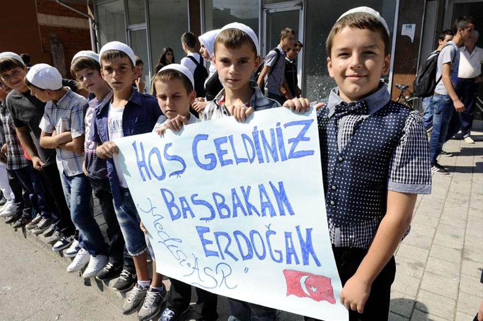 Makedonya'da Erdoğan coşkusu
