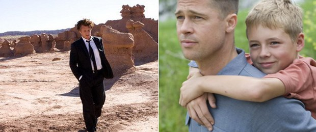 Malick, Brad Pitt, Sean Penn... Ve ilk kare
