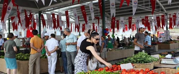 Maltepe'de organik pazar