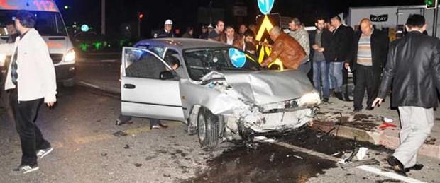 Manisa'da trafik kazası: 9 yaralı