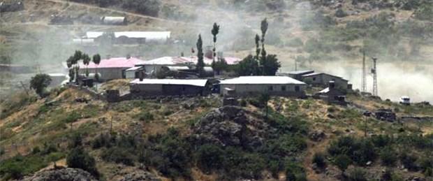 Mardin'de karakola saldırı: 1 asker şehit