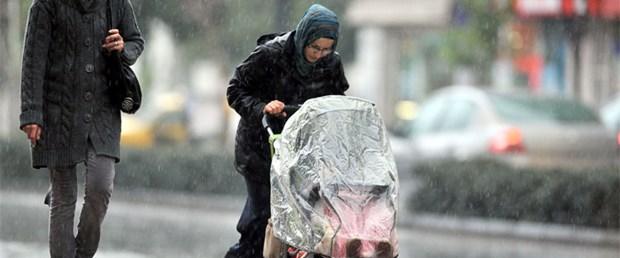 Marmara ve Ege'ye yağış uyarısı
