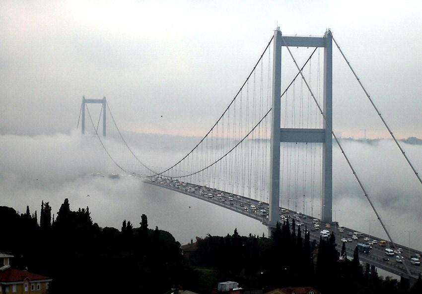 Marmara'ya sis perdesi