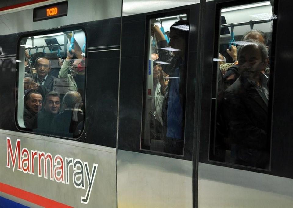 Marmaray'ın ilk günü