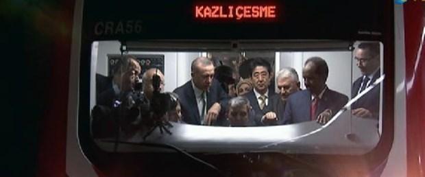 Marmaray'ın ilk seferi