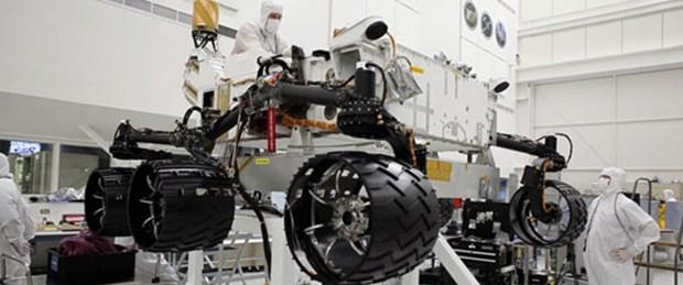 Mars robotunun yapımını canlı izleyin