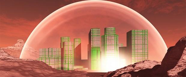 Mars'a 80 bin nüfuslu koloni