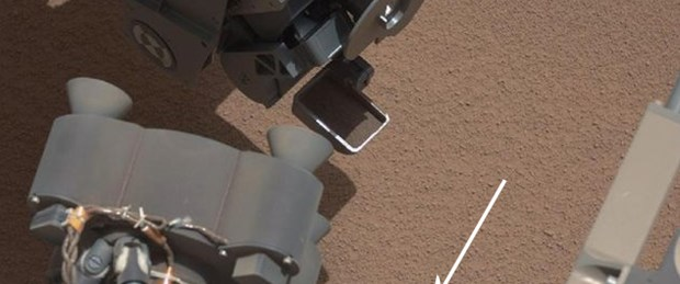 Mars'ta esrarengiz parlak nesne