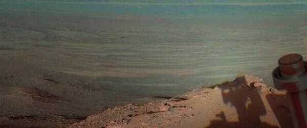 Mars'ta gün batımı
