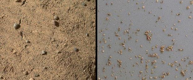 'Mars'ta organik bileşikler bulundu'