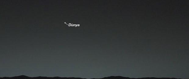 Mars'tan Dünya'yı çekti