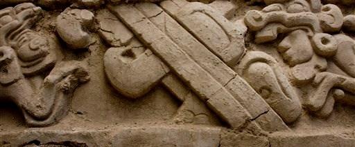 Mayalardan kalma 2300 yıllık friz bulundu