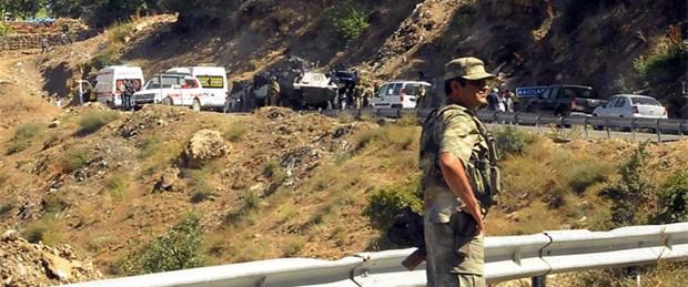 Mayın patladı: 4 asker yaralı