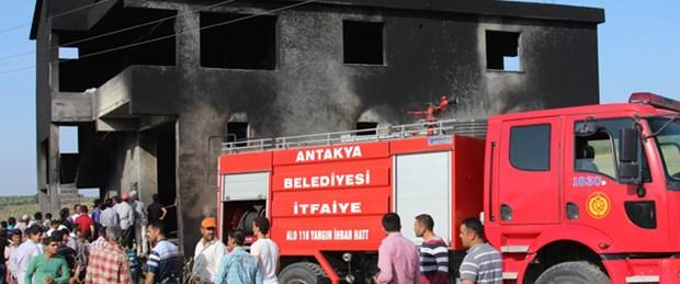 Mazot deposunda patlama: 9 ölü