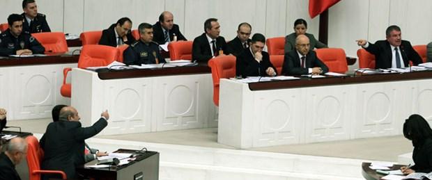 Meclis'te 'iğrenç' gerginliği