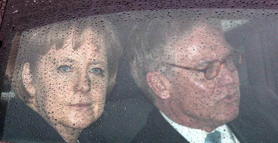 Merkel ziyaretinden kareler