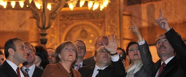 Merkel'in Sultanahmet yorumu: Çok güzel!