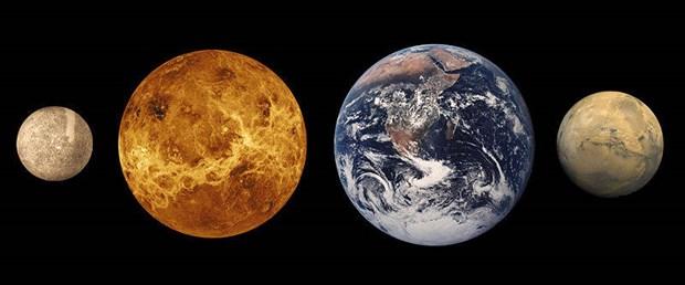 Merkür ve Mars, Dünya ve Venüs gibi aynı kuşaktan mı?