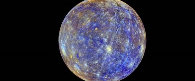 Merkür'ün renkli haritası çıkarıldı
