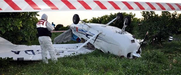 Mersin'de eğitim uçağı düştü: 1 ölü
