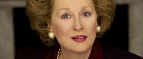 Meryl Streep 'Demir Leydi'ye dönüştü