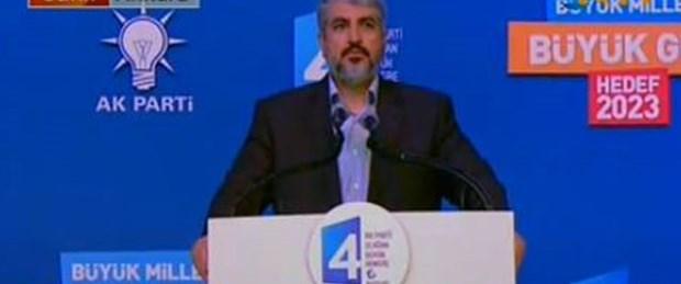 Meşal: Artık İslam aleminin de liderisin