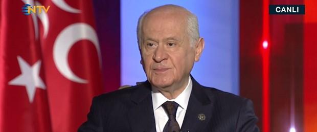 MHP lideri Bahçeli NTV-Star TV ortak yayınında (Canlı izle)