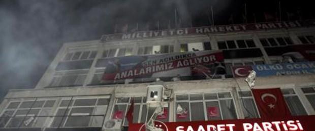 MHP'ye 500 polisle gece operasyonu
