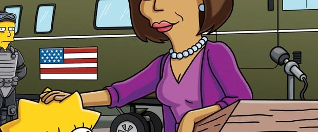 Michelle Obama 'The Simpsons'a konuk oluyor