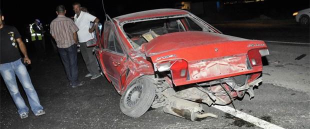 Milletvekilinin ailesi trafik kazası geçirdi