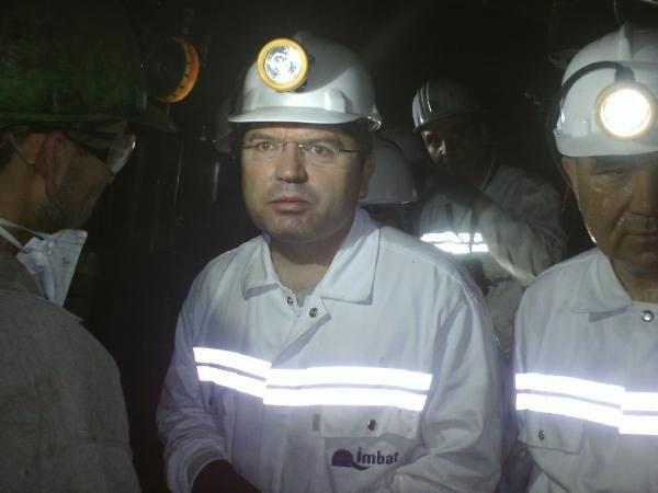 Milletvekilleri maden ocağında