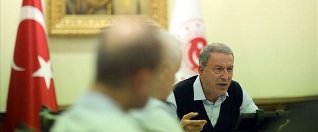 Milli Savunma Bakanı Akar, ABD'li, İngiliz ve Fransız mevkidaşlarıyla görüştü
