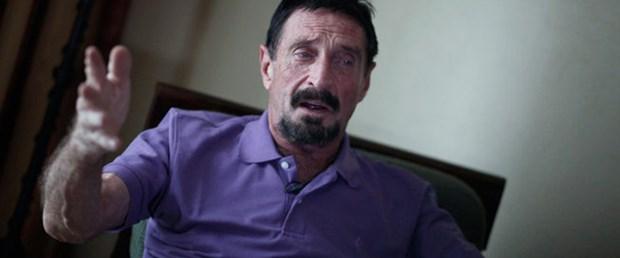 Milyoner McAfee Guatemala'da yakalandı