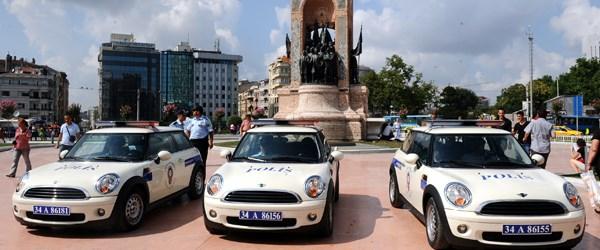 'Mini' polisler görev başında