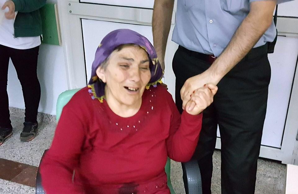 Anneanne Nazife Ü., torununun ölüm haberini alınca hastanede gözyaşlarına boğuldu.