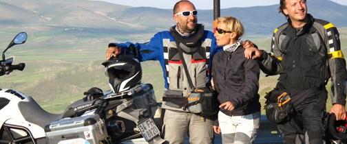 Mirgün Cabas motosikletle Türkiye turunda