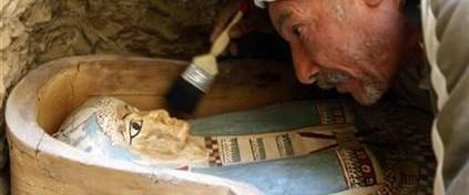 Mısır'da 4 bin yıllık mezarlık keşfedildi