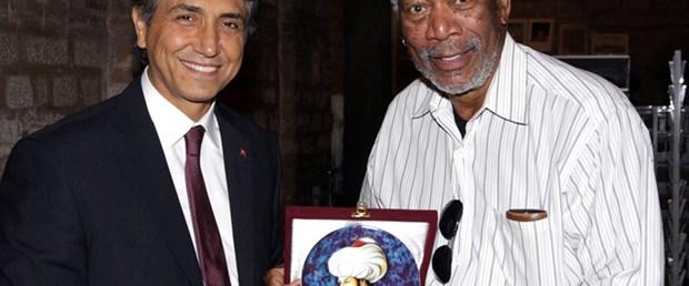 Morgan Freeman İstanbul'da
