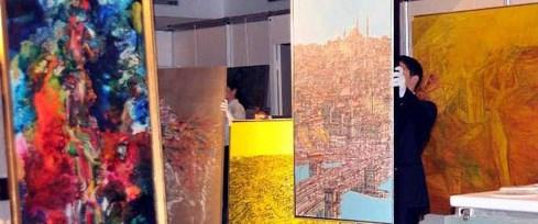 Mübin Orhon tablosuna 1 milyon lira